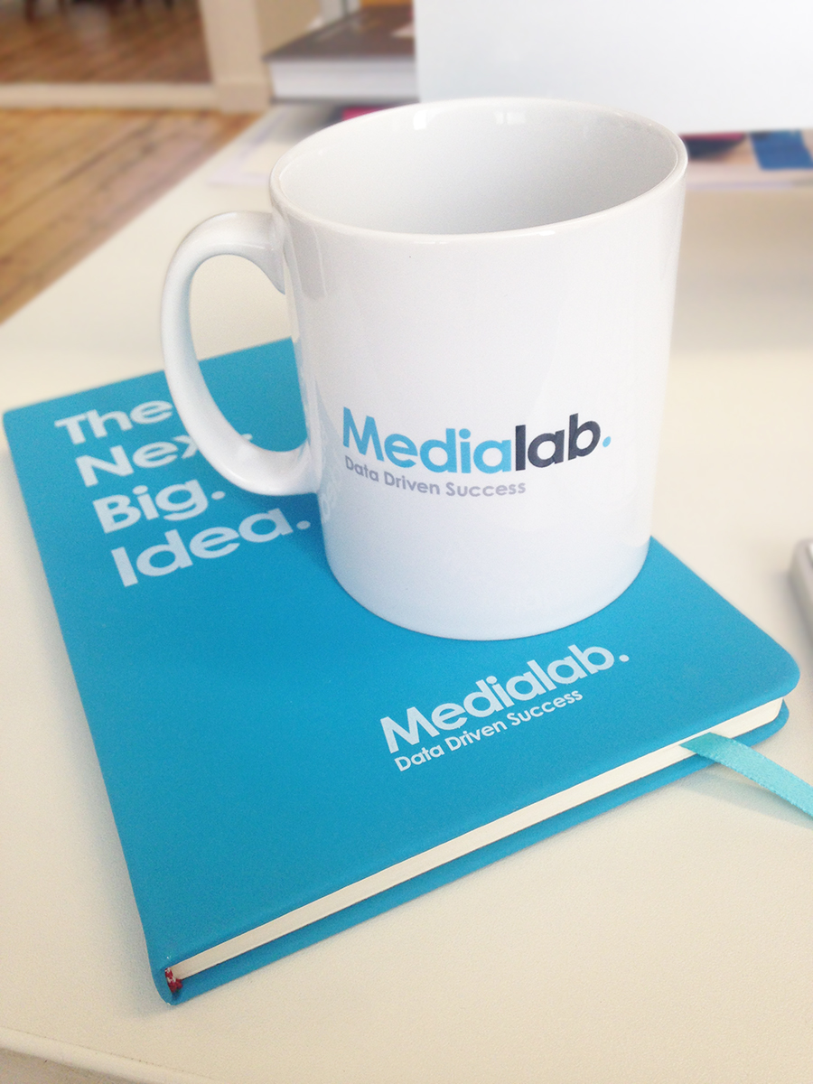 Notebook & Mug Design – Print – Internal Marketing