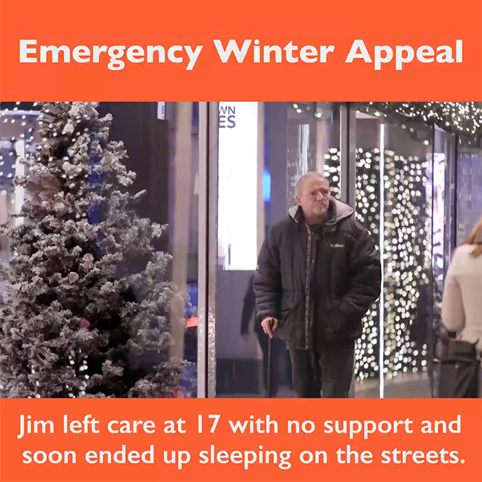 St Mungos Christmas Appeal