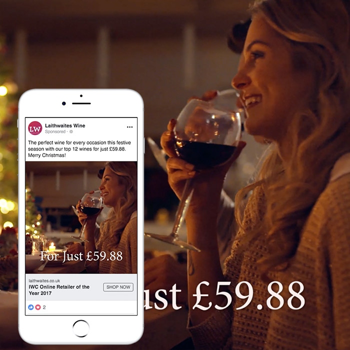 Laithwaite's 12 Top Wines at Christmas – Social Media Video Campaign