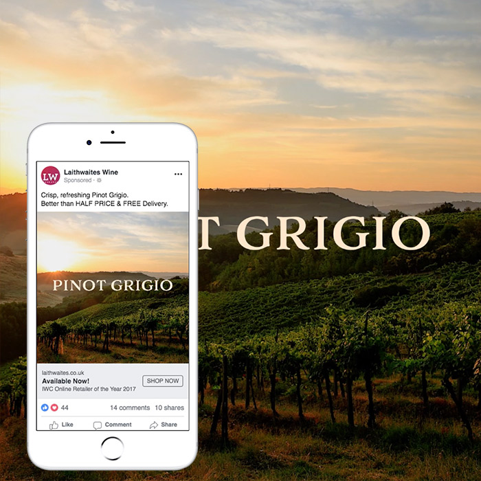 Latihwaite's Pinot Grigio – Social Media Video Campaign